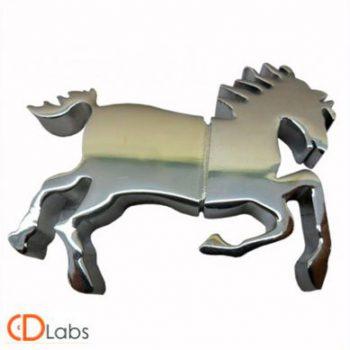 Металлическая флешка Лошадь