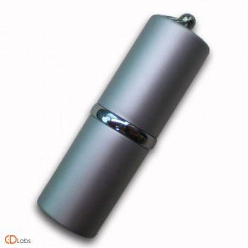 Металлическая флешка Цилиндр матовый