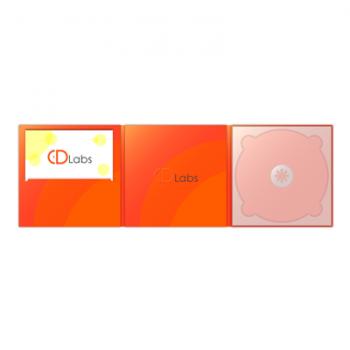 CD DigiPack 6 полосный с просечкой