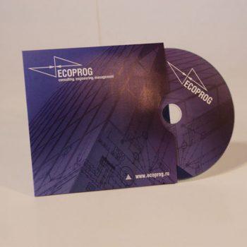 Печать на диске (ECOPROG)