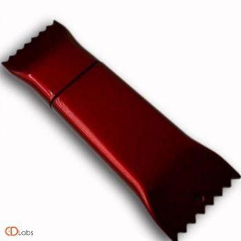 Пластиковая флешка — конфета