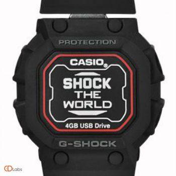Флешка в форме часов Casio