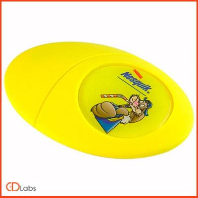 Силиконовая желтая флешка в форме Яйца