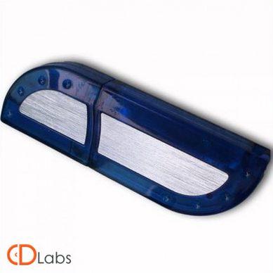 Пластиковая флешка сине-серая