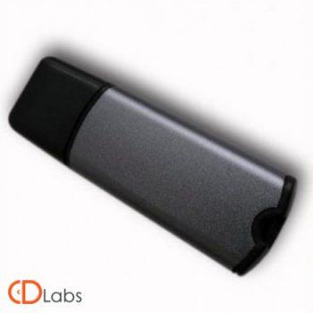 Пластик-металл флешка комбинированная классическая