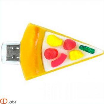 Флешка PVC-3D Кусок пиццы